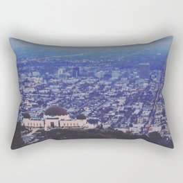 Griffith Observatory Rectangular Pillow