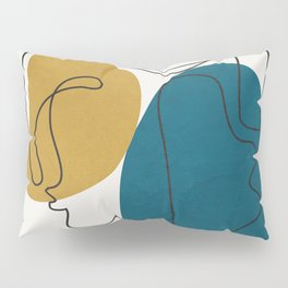 Abstract Faces 26 Pillow Sham
