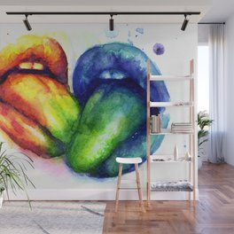 Taste my color Wall Mural