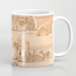 Edward Lear - Near Suez, 1 pm, 16 January 1849 Coffee Mug