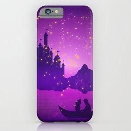Castle with Lanterns iPhone Case