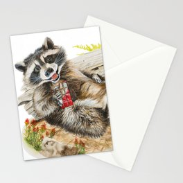 Chocolate Bandit Stationery Cards