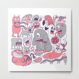 Ol' Doodle Metal Print