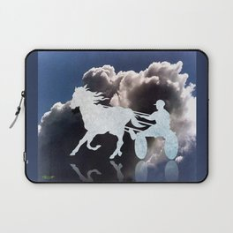 Chariots of Fire - Harness Racing Laptop Sleeve