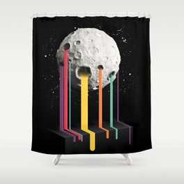 RainbowMoon Shower Curtain