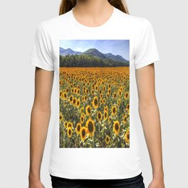 Sunflower Fields Of Dreams T-shirt