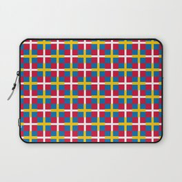 Mix of flag: sweden and denmark Laptop Sleeve
