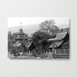 Chiang Mai Metal Print