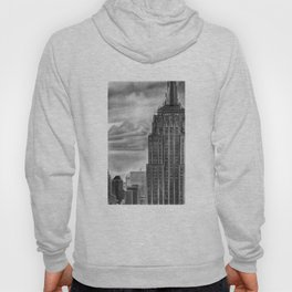 Empire State Building Pencil Drawing Hoody