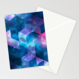 Geometrical shapes Stationery Cards