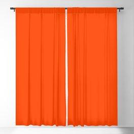 Orange Red Blackout Curtain