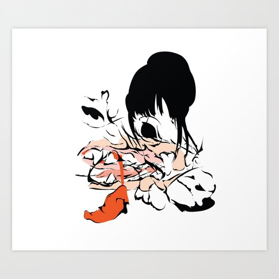 Im gonna eat you with passion Art Print
