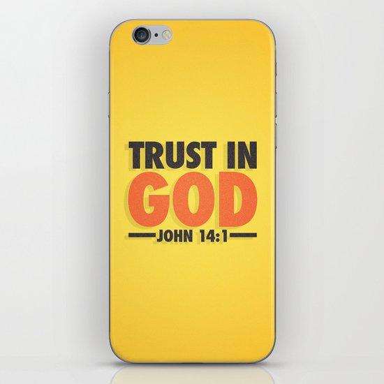 Trust in God iPhone & iPod Skin