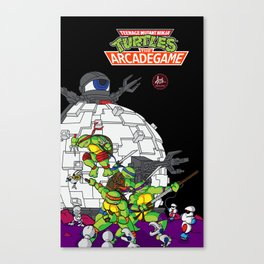 Teenage Mutant Ninja Turtles the arcade game II Canvas Print