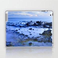 Blue sea. Sunset. Laptop & iPad Skin