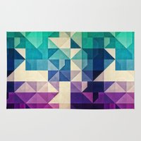 spires Area & Throw Rugs featuring pyrply by Spires