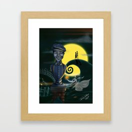 Client Commission Simpkins Son By Topher Adam Framed Art Print