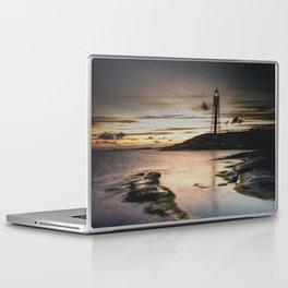 I walk the line Laptop & iPad Skin