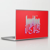 french fries Laptop & iPad Skins featuring French Fries by makesake