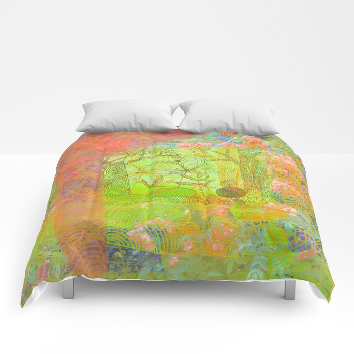 summer fantasy Comforters