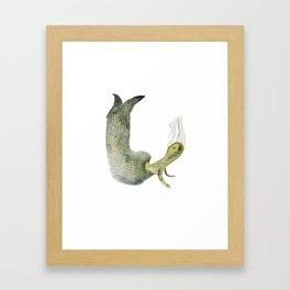 BLUB Framed Art Print