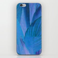 Exotic Leaves with Translucent Floral Pattern iPhone & iPod Skin