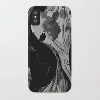 quibe iPhone & iPod Cases featuring Ink by Magdalena Hristova