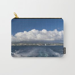Caribbean Island Panorama Carry-All Pouch