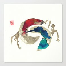 Capoeira 422 Canvas Print