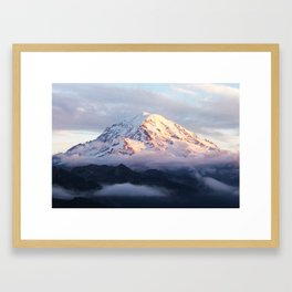 Marvelous Mount Rainier 2 Framed Art Print