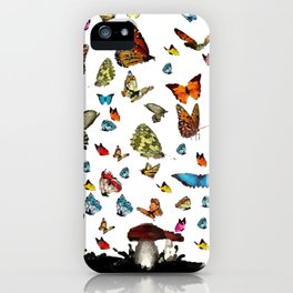Butterfly´s friends iPhone Case