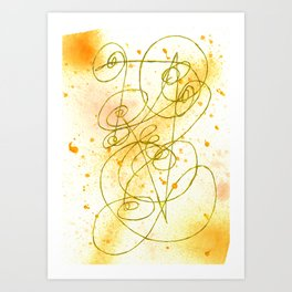 Golden Dream Art Print