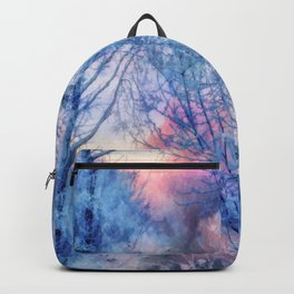 Winter evening Backpack