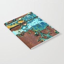 Old Metal Door Notebook