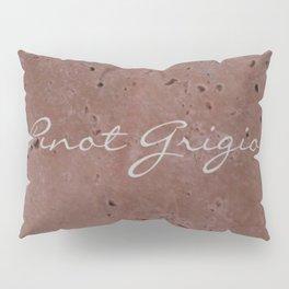 Pinot Grigio Wine Red Travertine - Rustic - Rustic Glam - Hygge Pillow Sham