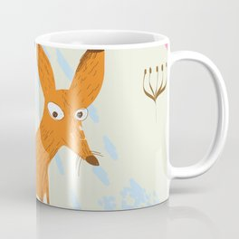 Russia Fox vintage travel poster Coffee Mug