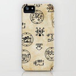 Lemegeton iPhone Case