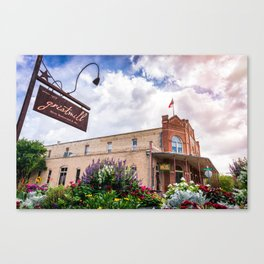 H. D. Gruene Mercantile Building (Gruene, Texas TX) Canvas Print