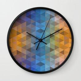 pattern conti Wall Clock