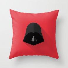Darth Vader Minimalistic Poster Throw Pillow