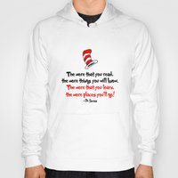 dr seuss Hoodies featuring The Dr.'s Advice. by Travellustrator