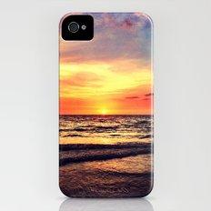 Orange Sunset Slim Case iPhone (4, 4s)