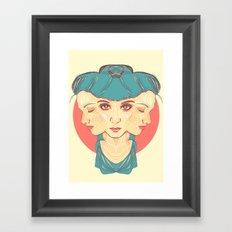 Regret Framed Art Print