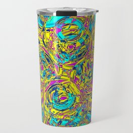 Abstract HJ YY Travel Mug