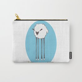 Bah Bah Tall Sheep Carry-All Pouch
