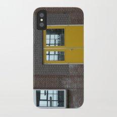Yellow doors iPhone X Slim Case