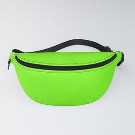 Bright Fluorescent  Green Neon Fanny Pack