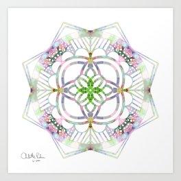 Quarantine kaleidoscope  Art Print