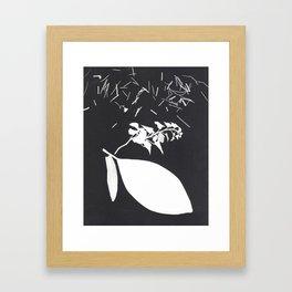 Photogram 3 Framed Art Print