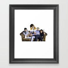 1Direction Framed Art Print
